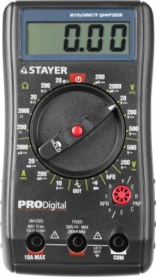 "Мультиметр STAYER ""PROFESSIONAL"" PRODigital цифровой"