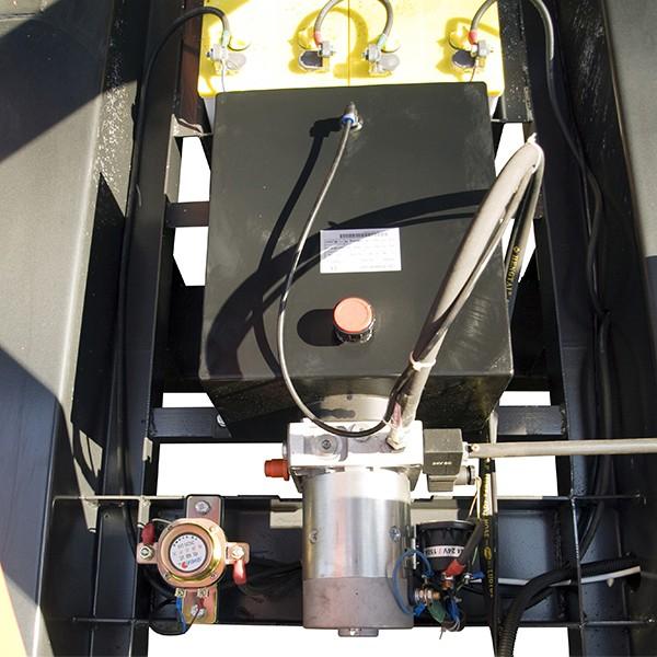 Ножничный подъемник GROST PX 05-7500 с электроподъемом
